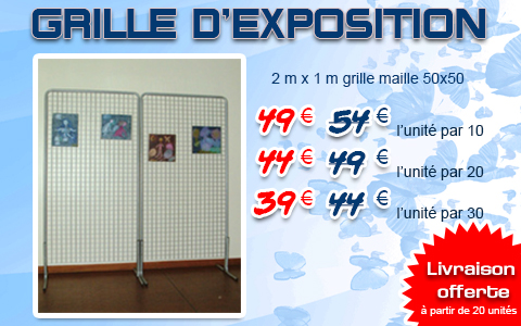 Grille d'exposition